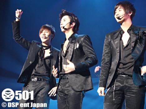 SS501 Mini Concert in Japan 28/01/09