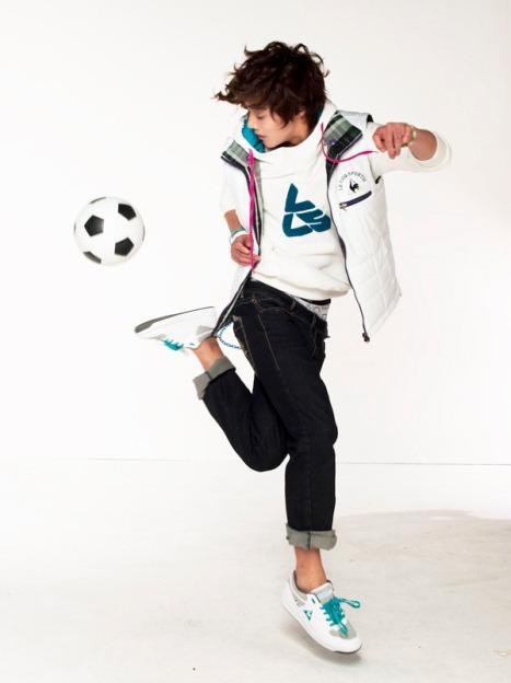 soccer player Kim hyun Joong