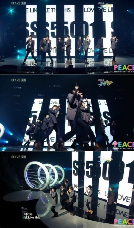 SS501 Music Bank 30.10.09 1