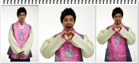 Kim Hyun Joong – Estrella masculina que es más adecuado para usar hanbok Qweqeqweqe