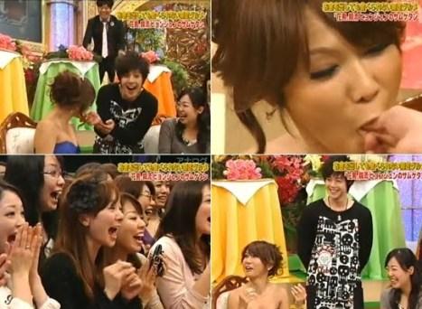 La estrella travestí de Japón Harina Ai mostró abiertamente su afecto por Kim Hyun Joong Onigiri-khj1