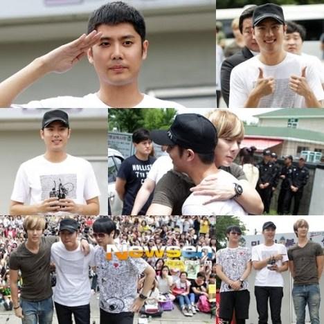SS501 Kim Kyu Jong se alista en el ejército 71kkjmilitarservice
